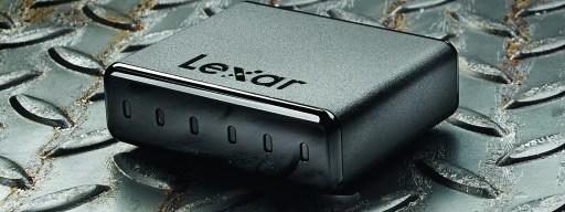 Lexar Professional Workflow DD512 - hero shot