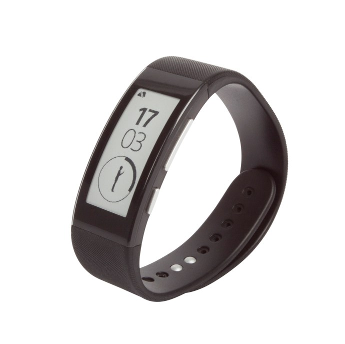 Sony SmartBand Talk - three-quarter view from the front