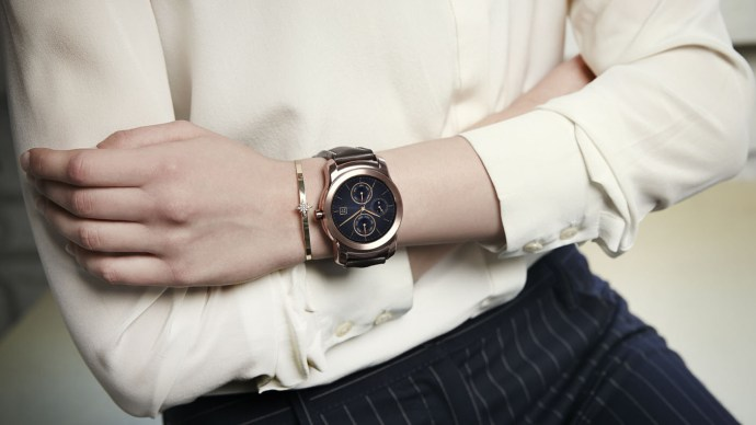 LG Watch Urbane - Gold version