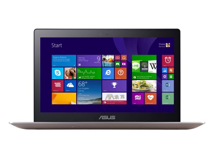 Asus Zenbook UX303LA - view from the front