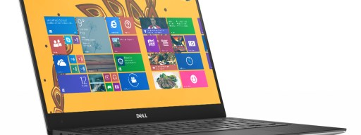 Dell XPS 13 (2015) review - from front, open