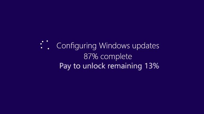 Microsoft isn't going freemium - Freemium windows updates
