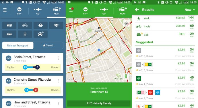 Best Android Apps 2015 - Citymapper