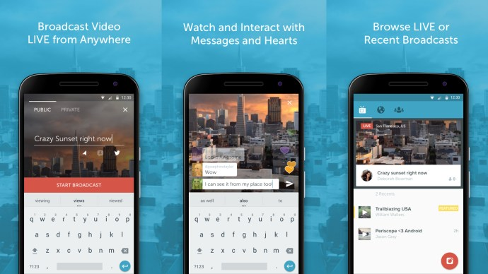 Best Android Apps 2015 - Periscope