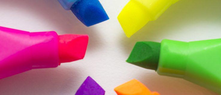 Hur man ändrar standard OS X Highlight Color