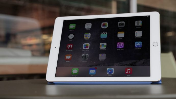 iPad Air 2 review: On a coffee table