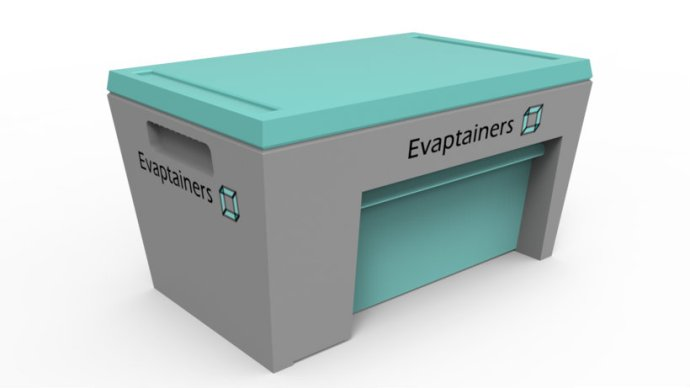 evaptainer