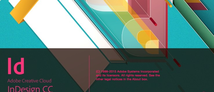 Adobe InDesign CC 2015: Splash screen