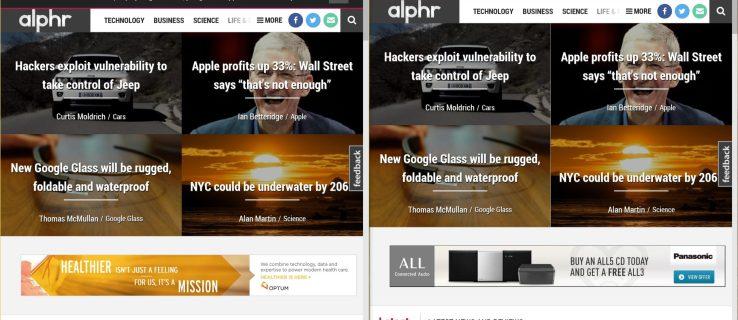Microsoft Edge vs Internet Explorer 11