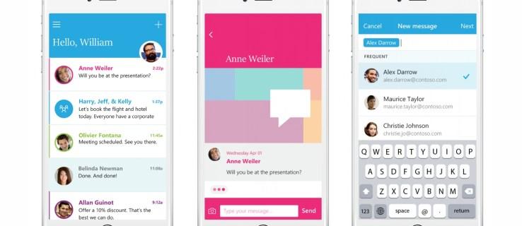 Microsoft revela Microsoft Send, una nueva aplicación de chat empresarial que rivaliza con Slack