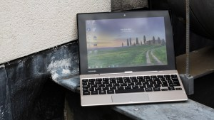 Toshiba Satellite Click Mini review: In laptop mode, the Click Mini looks the business