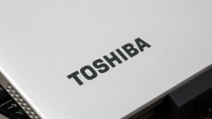Toshiba Satellite Click Mini review: Toshiba logo