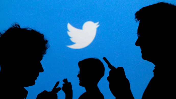 Twitter crowd