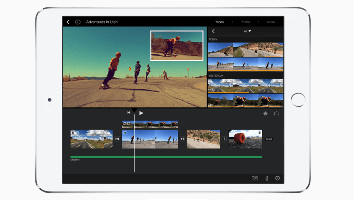 Use your iPad to make high-quality videos