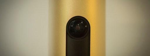 Netatmo Welcome review: Camera lens