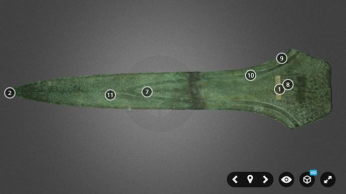British Museum Samsung VR Gear Sword