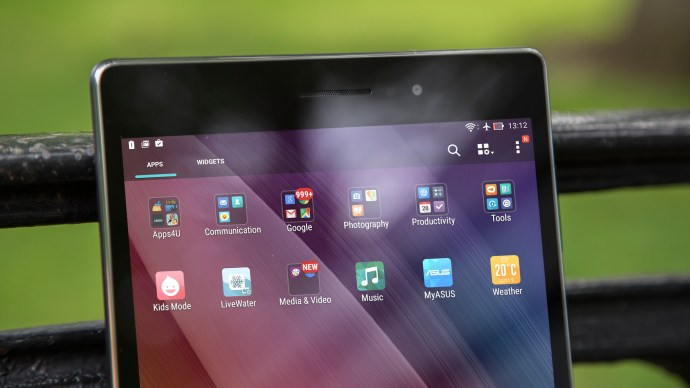 Asus ZenPad 8.0 review: Front, top half