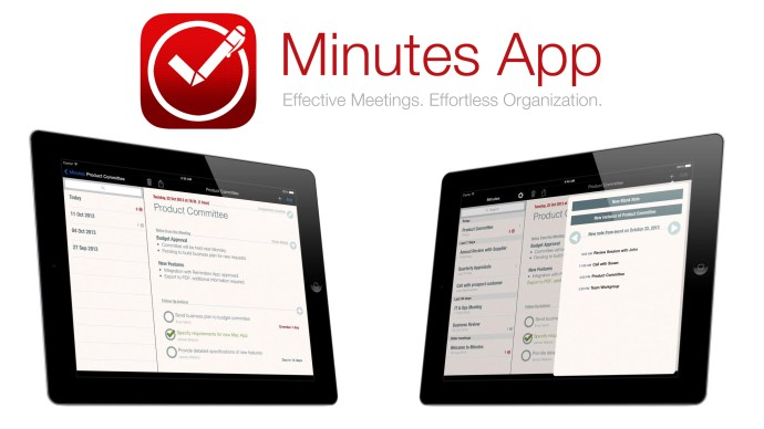 Six Killer apps for business - Minutes App