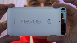 Google Nexus 6P review: Rear, up close