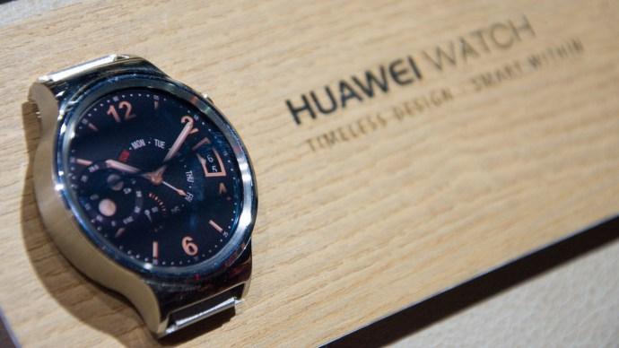 Huawei Watch review: Watch face