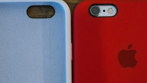 Apple iPhone 6s review: White and red cases