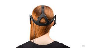 Oculus Rift virtual reality headset release date - Headband redhead