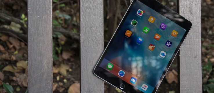 Apple iPad mini 4 review: Front, at an angle