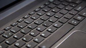 Toshiba Satellite C40-C review: Keyboard