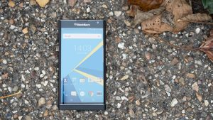 BlackBerry Priv review: With the keyboard hidden away, the Priv looks like a (very large) normal smartphone