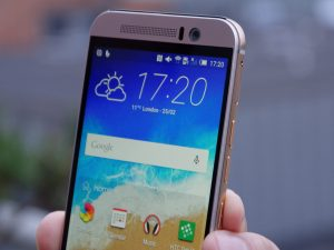 HTC One M9 review: View from the front