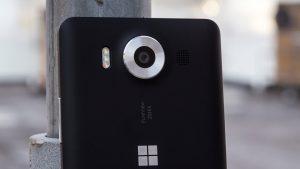 Microsoft Lumia 950 review: Camera lens