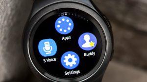 Samsung Gear S2 review: Shortcut screen