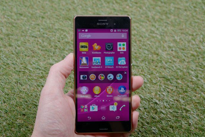 Sony Xperia Z3 - front