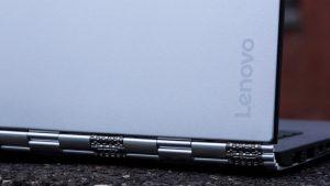 Lenovo Yoga 900 review: Lenovo logo