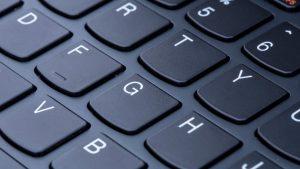 Lenovo Yoga 900 review: Keyboard close-up