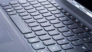Lenovo Yoga 900 review: Keyboard