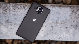 Microsoft Lumia 950 XL review: Rear