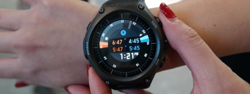 Casio Smart Outdoor Watch review: Sunrise and sunset screen