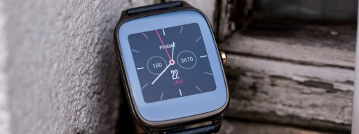 Asus ZenWatch 2: Main watch face