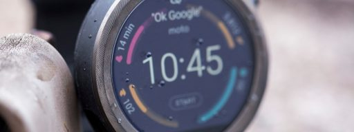 Motorola Moto 360 Sport review: Sport watch face