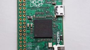 Raspberry Pi Zero processor