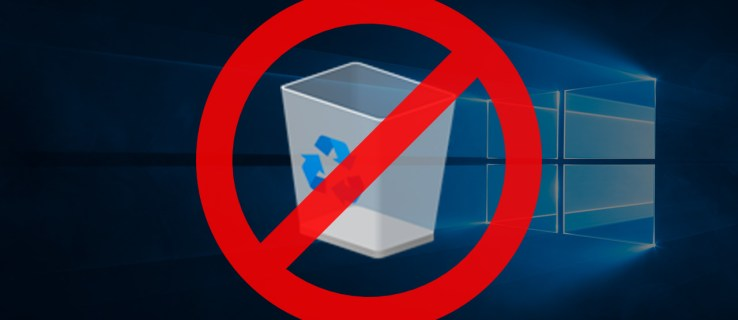 How to Remove Recycle Bin from the Windows 10 Desktop