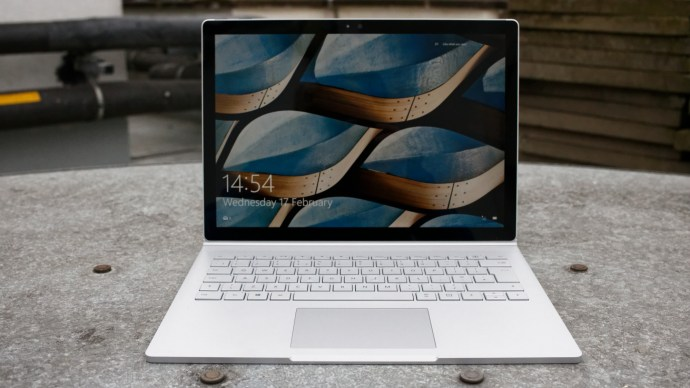 Microsoft Surface Book review: From front