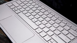 HP Envy x2: Keyboard and touchpad