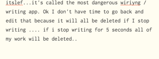 the_most_dangerous_writing_app