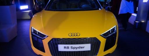 Audi R8 Spyder 2016 UK launch