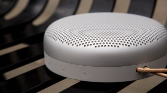 B&O Play Beoplay A1 from the side
