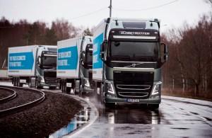 Driverless truck convoy just beat Europe