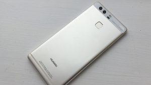 Huawei P9 rear