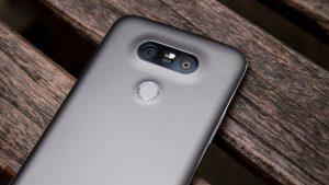 LG G5 fingerprint reader